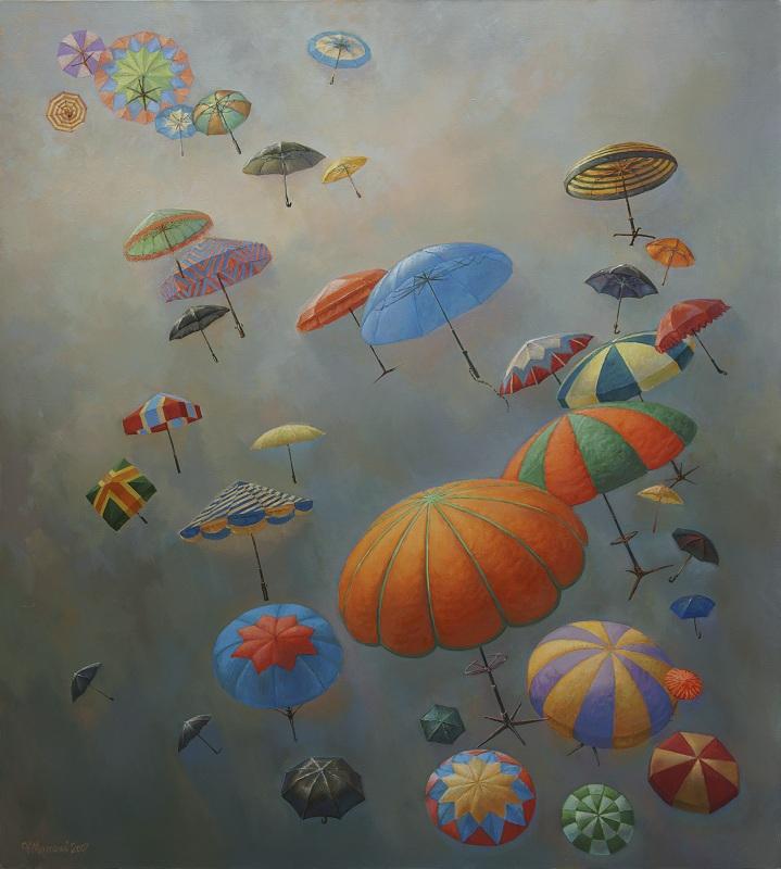 Зонты в зените