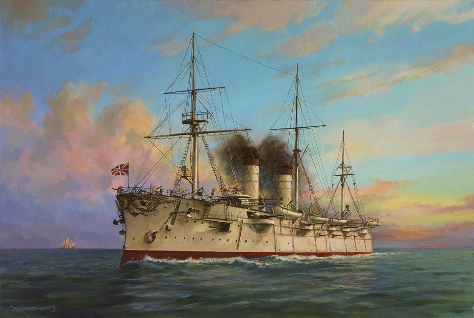 Броненосный крейсер ,,Рюрик,,